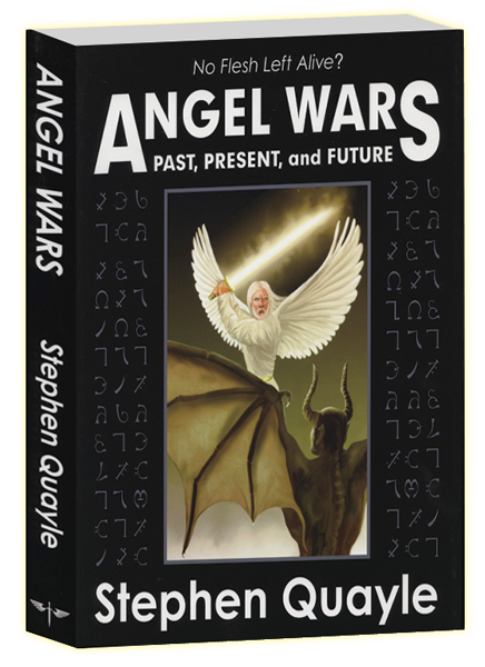 Angel Wars book cover illustration and artwork by Duncan Long